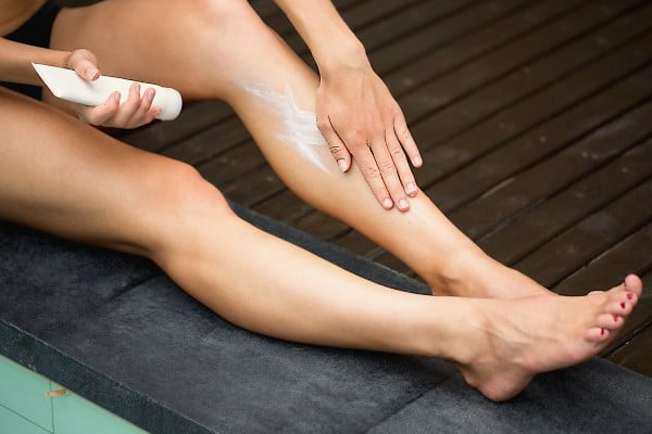 Crema para piernas
