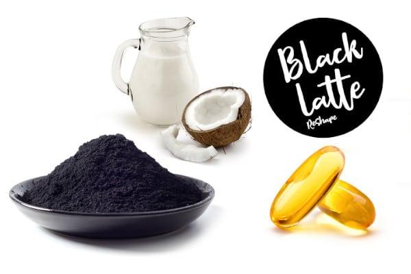 Ingredientes Black Latte