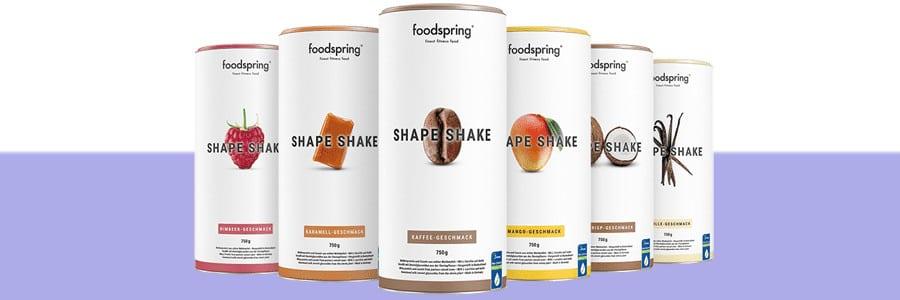 batidos proteicos shape shake