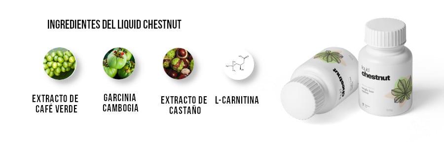 Ingredientes de Liquid Chestnut