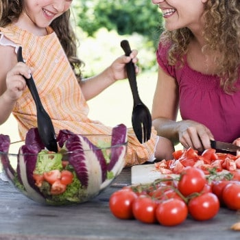 Características de dieta equilibrada para niños