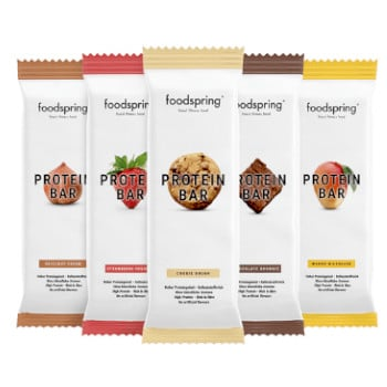 Pack de barritas Foodspring